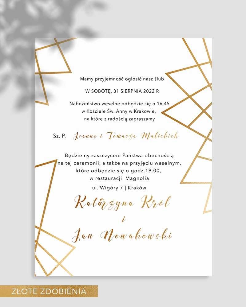 WEDDING INVITATIONS M05-001
