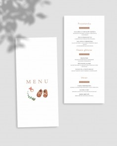 MENU CARDS C02-002