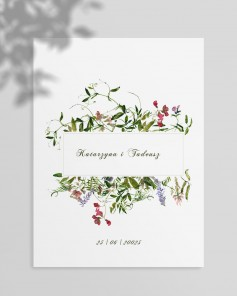WEDDING INVITATIONS M01-006