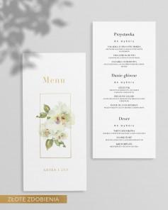 MENU CARDS M01-011