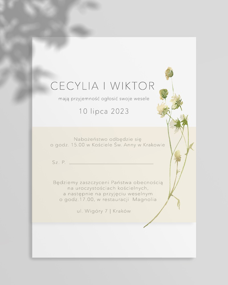 WEDDING INVITATIONS M01-012