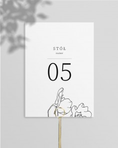 TABLE NUMBERS M02-005