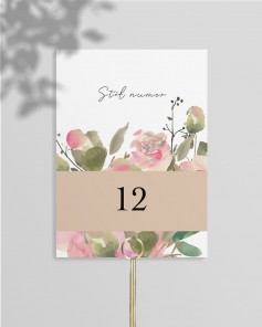 TABLE NUMBERS M01-013
