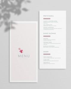 MENU CARDS U01-004