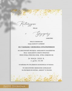 WEDDING INVITATIONS M02-007