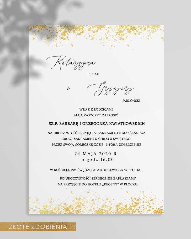 WEDDING INVITATIONS M02-007