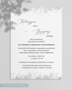 WEDDING INVITATIONS M02-008