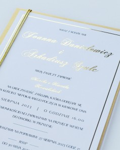 WEDDING INVITATIONS M02-012